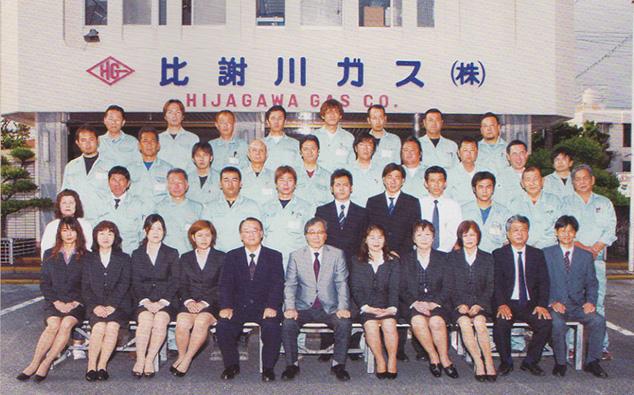 設立当時の社員